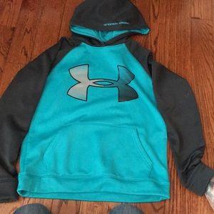 Under Armour boys hooded sweatshirt